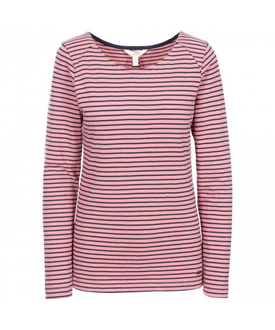 Image for Trespass Womens Moomba Striped Long Sleeve T Shirt