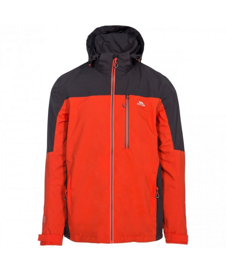 Image for Trespass Mens Tappin Hooded Waterproof Jacket