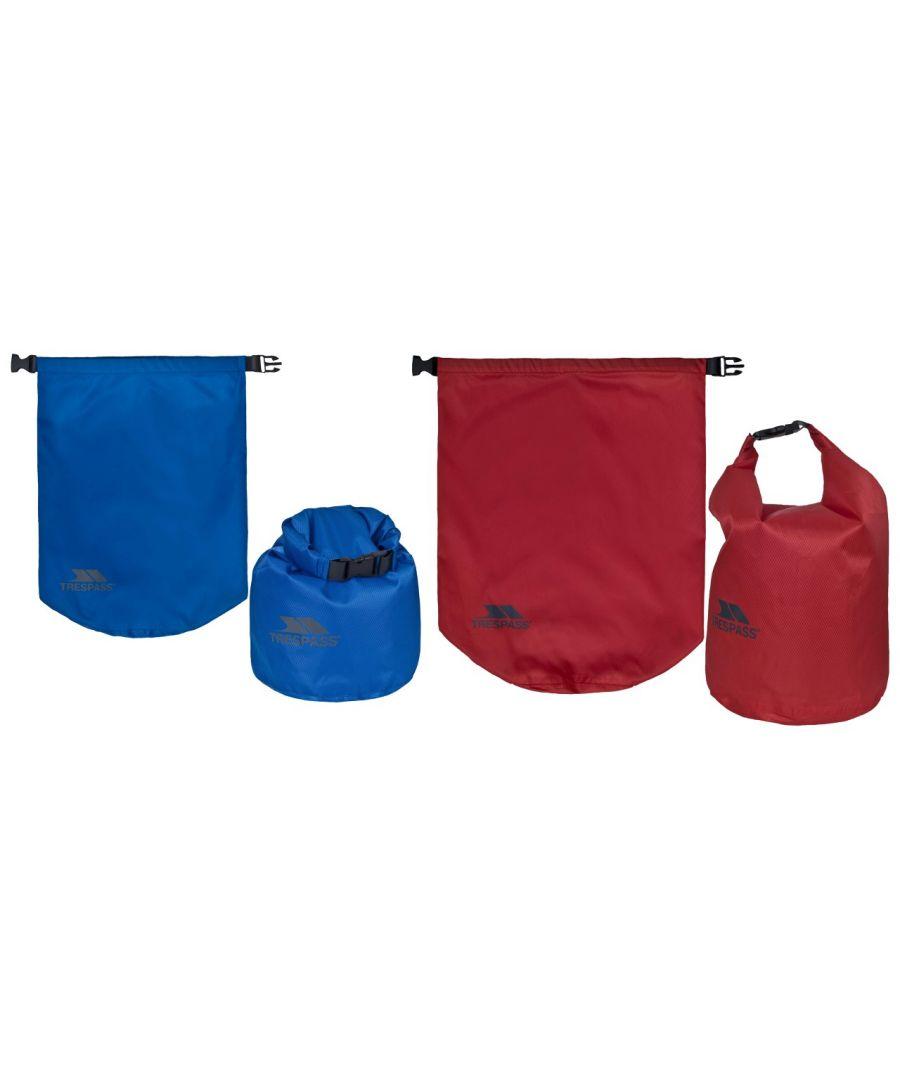 Image for Trespass Euphoria 2 Piece Dry Bag Set (10 And 15 Litres) (Assorted)