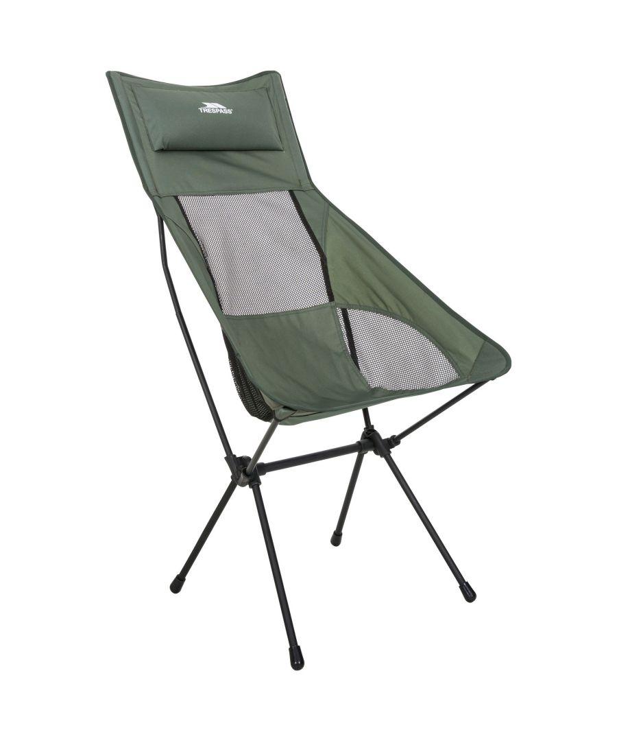 Image for Trespass Roost Tall Lightweight Folding Chair