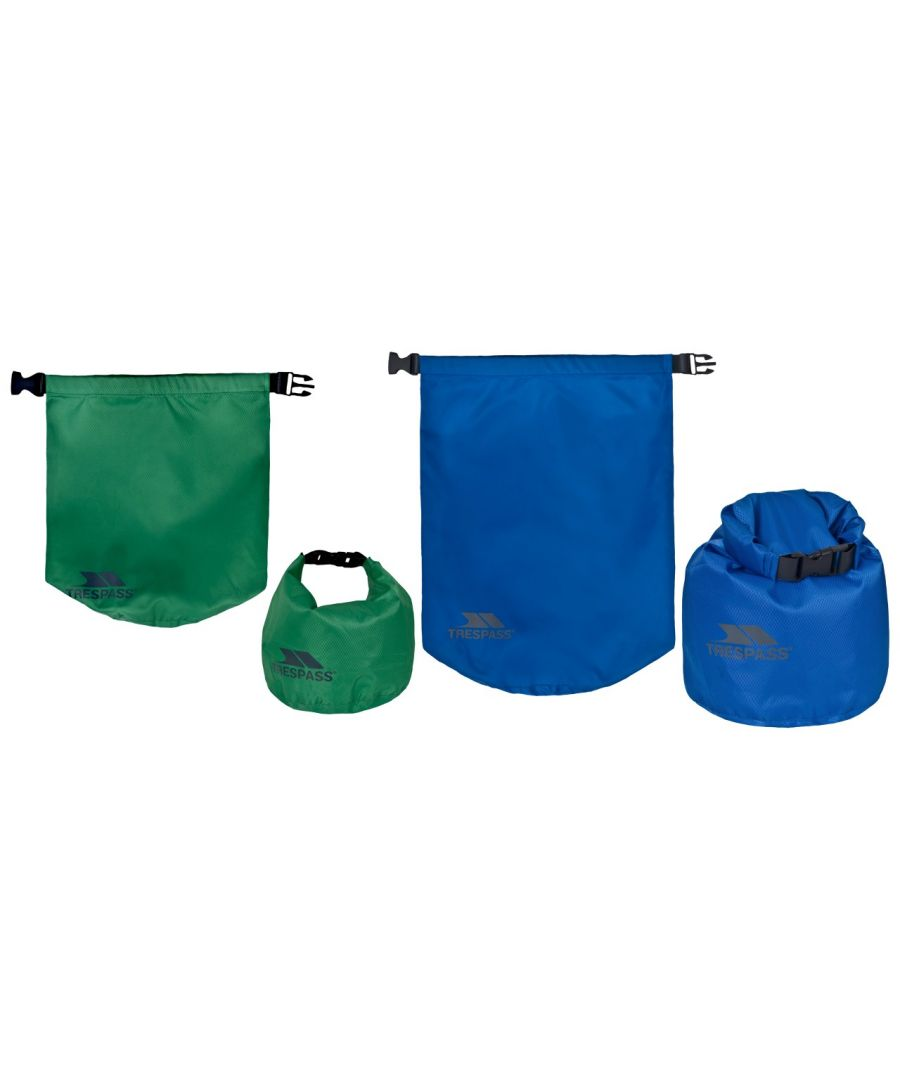 Image for Trespass Exhilaration 2 Piece Dry Bag Set (5 And 10 Litres) (Assorted)