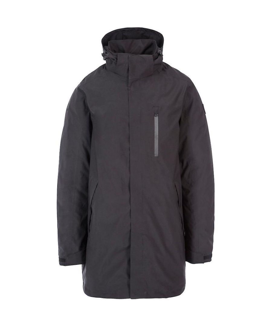 Image for Trespass Mens Shoulton Padded Waterproof Breathable Jacket