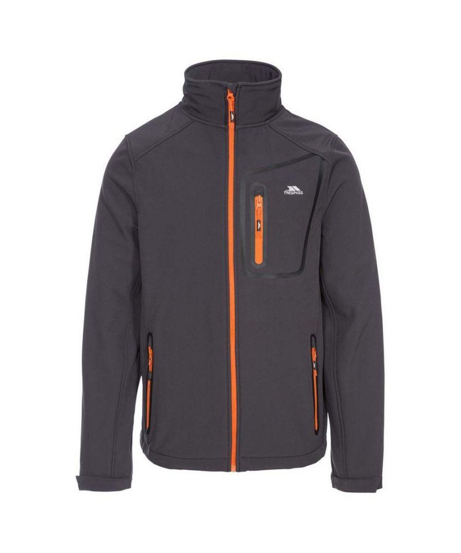 Image for Trespass Mens Hotham Softshell Jacket