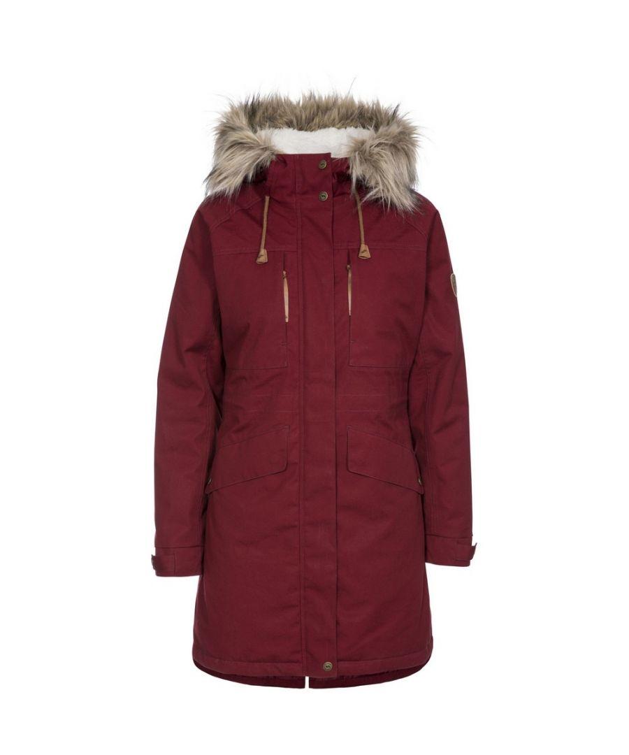 Image for Trespass Womens/Ladies Faithful Waterproof Jacket