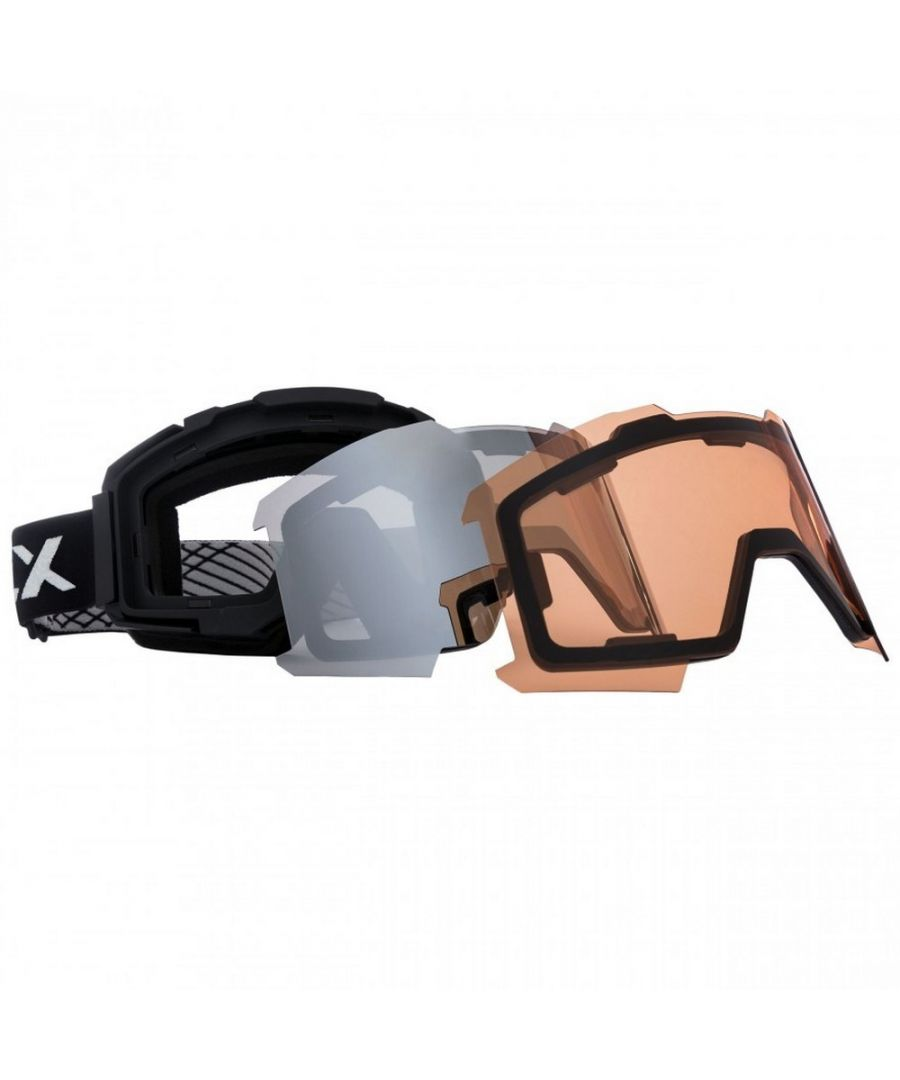 Image for Trespass Unisex Magnetic DLX Changeable Lens Ski Goggles