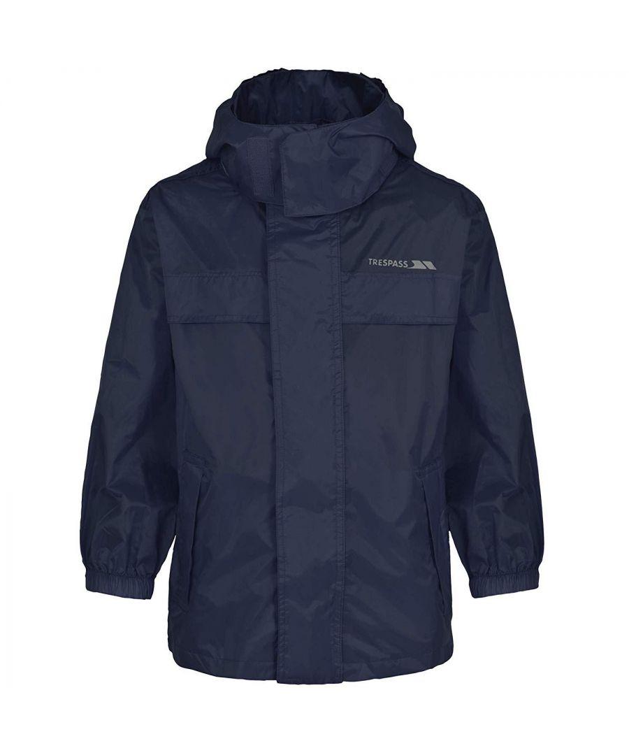 Image for Trespass Kids Unisex Packaway Waterproof Jacket