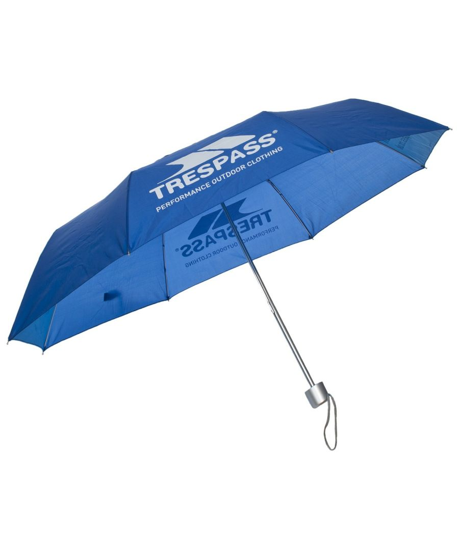 Image for Trespass Compact Umbrella With Fabric Sleeve (Blue)