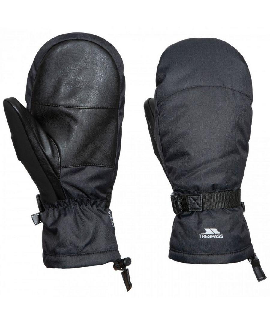 Image for Trespass Unisex Adults Adarek Leather Ski Mitt