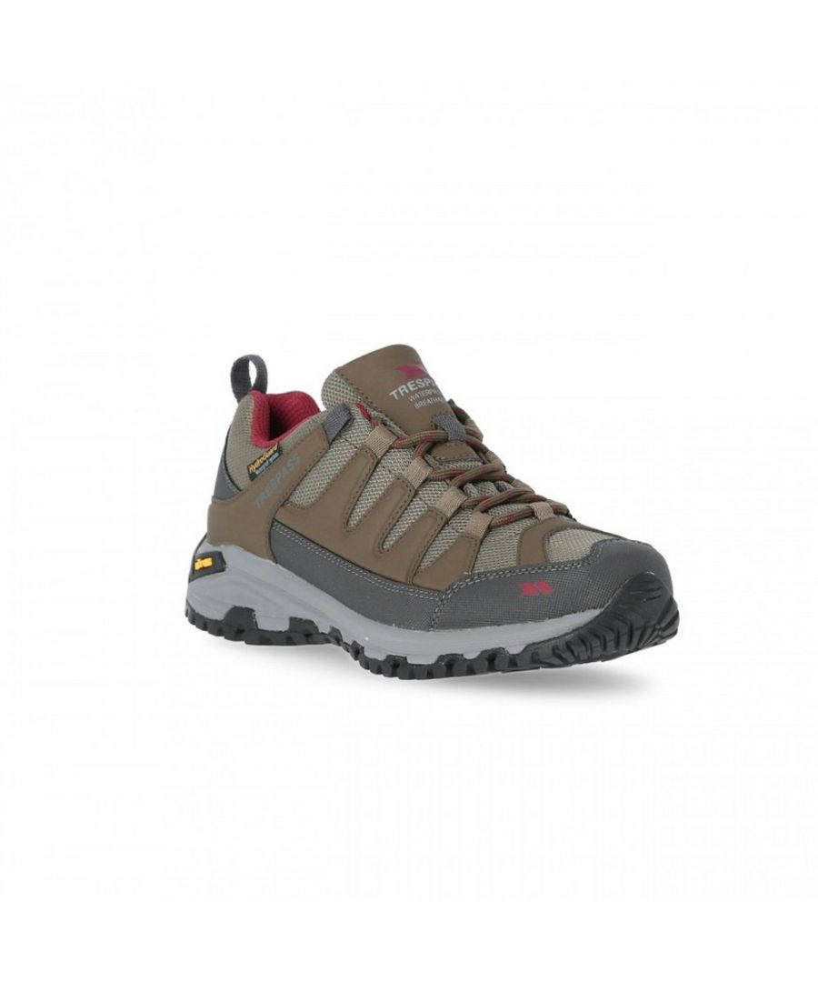 Image for Tresspass Womens/Ladies Carnegie II Vibram Walking Shoes