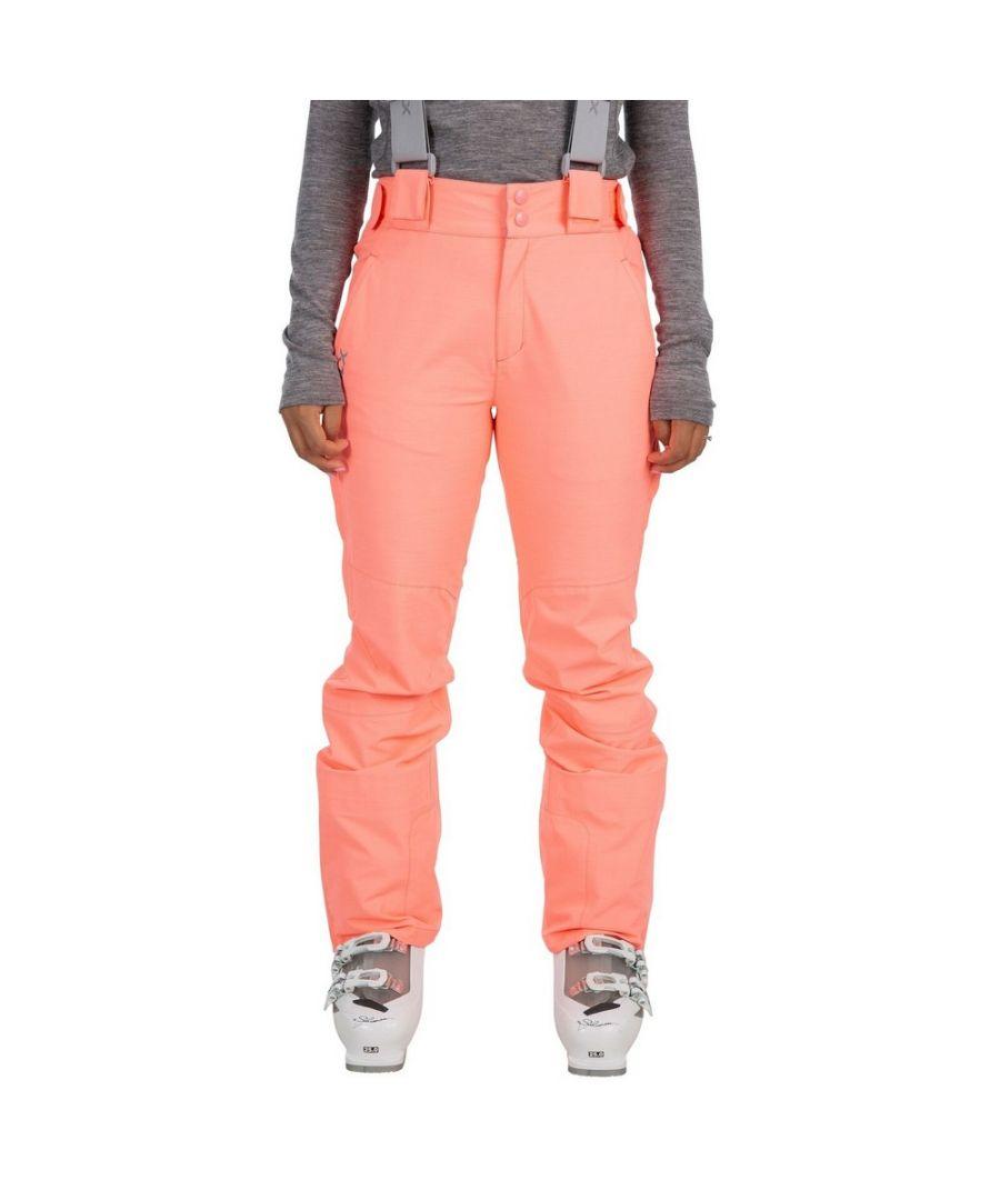 Image for Trespass Womens/Ladies Jacinta DLX Ski Salopettes Trousers