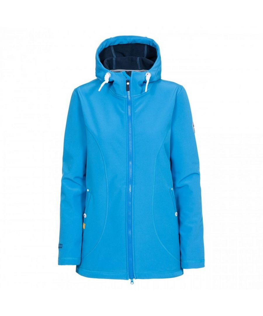 Image for Trespass Womens/Ladies Kinsley Hooded Softshell Jacket