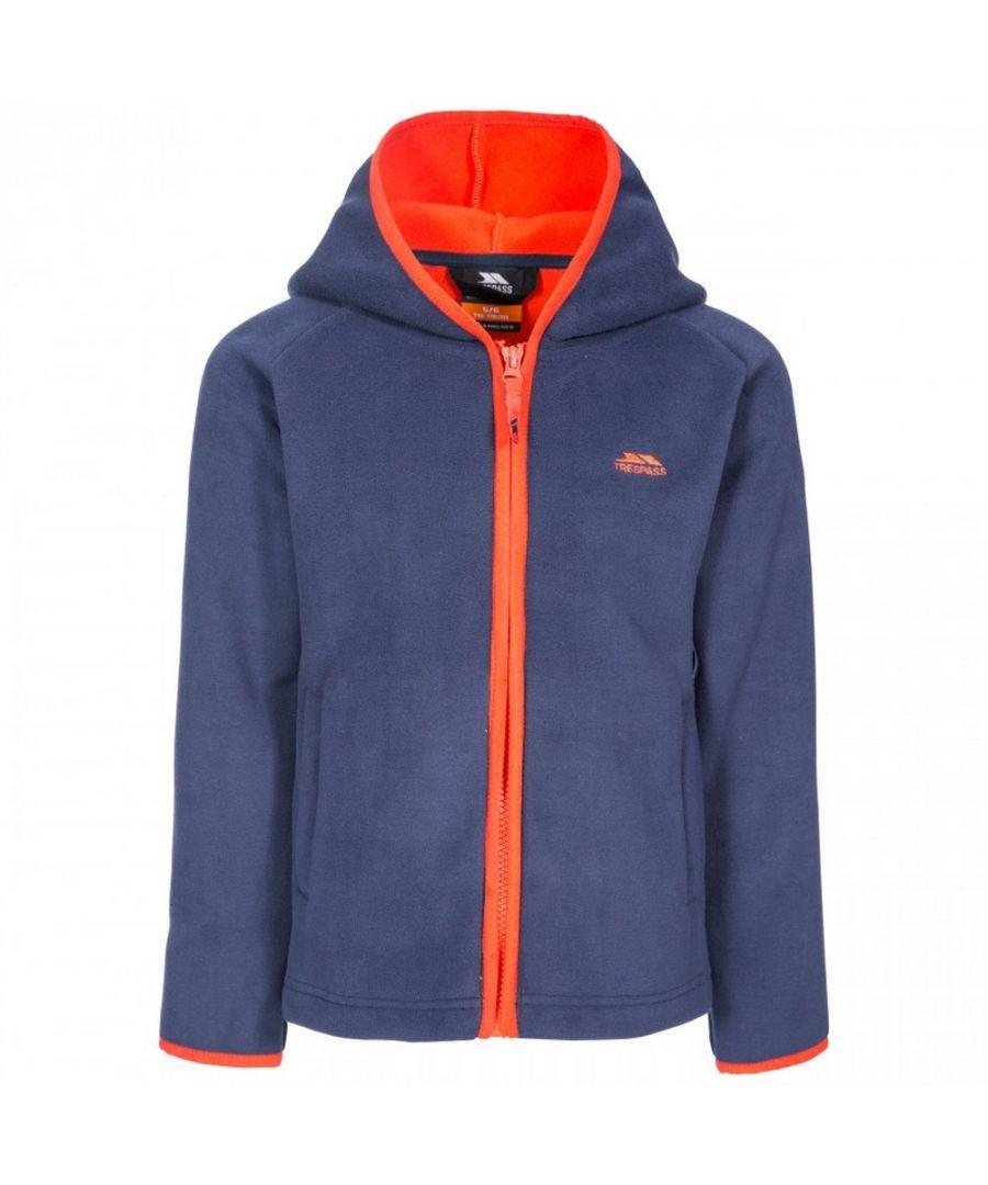 Image for Trespass Unisex Kids Mast Hooded Fleece