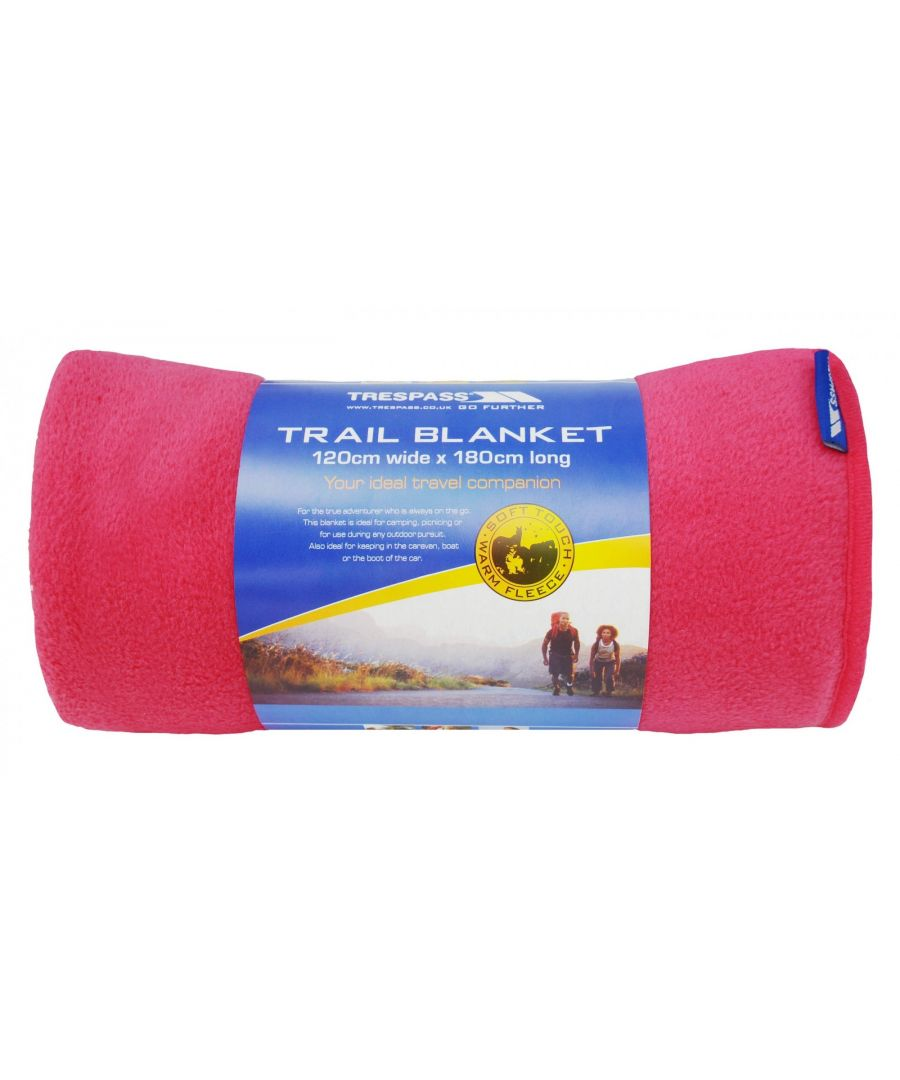 Image for Trespass Snuggles Fleece Trail Blanket - ASRTD