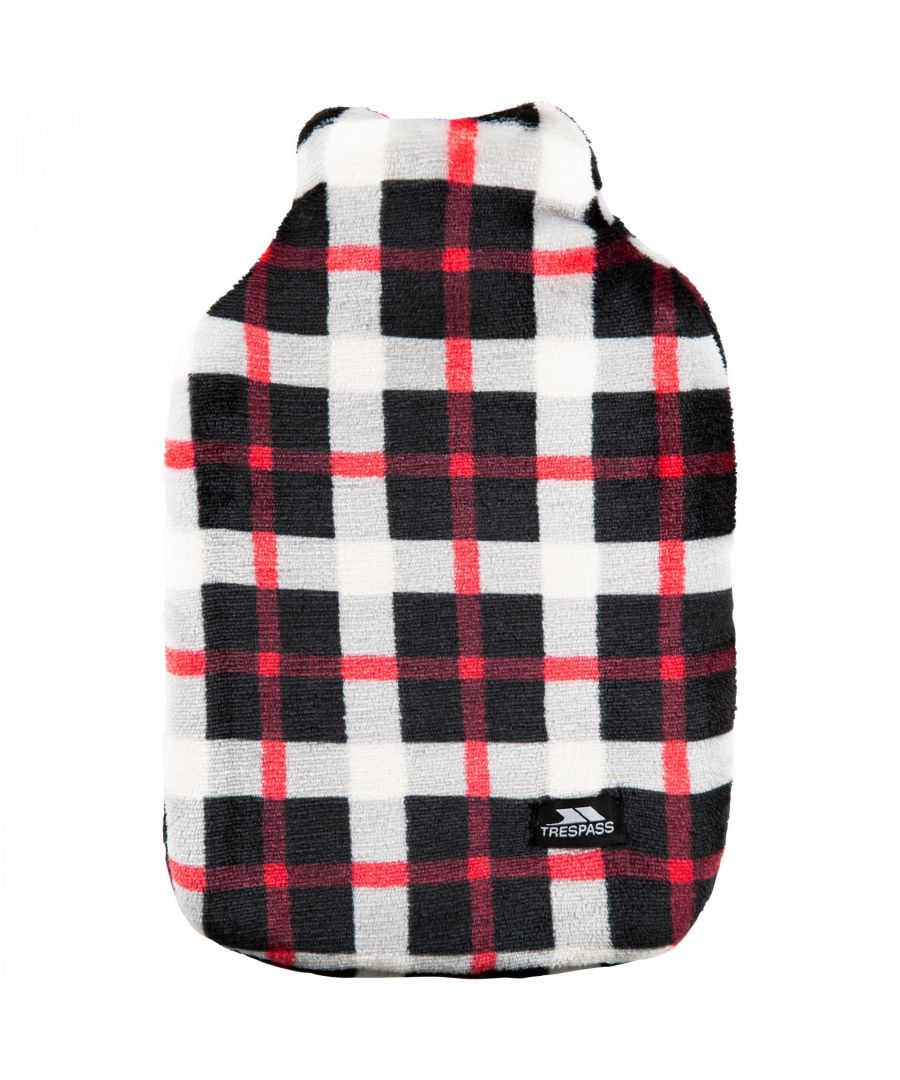 Image for Trespass Hughe Hot Water Bottle With Cover (Red Check)