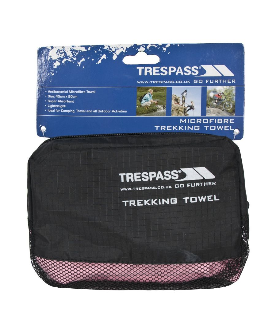 Image for Trespass Soaked Sports Towel (Pink)