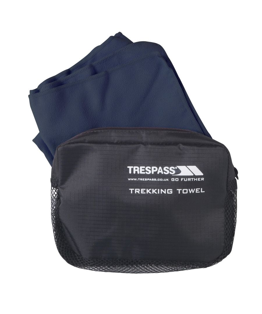 Image for Trespass Soaked Sports Towel (Navy Blue)