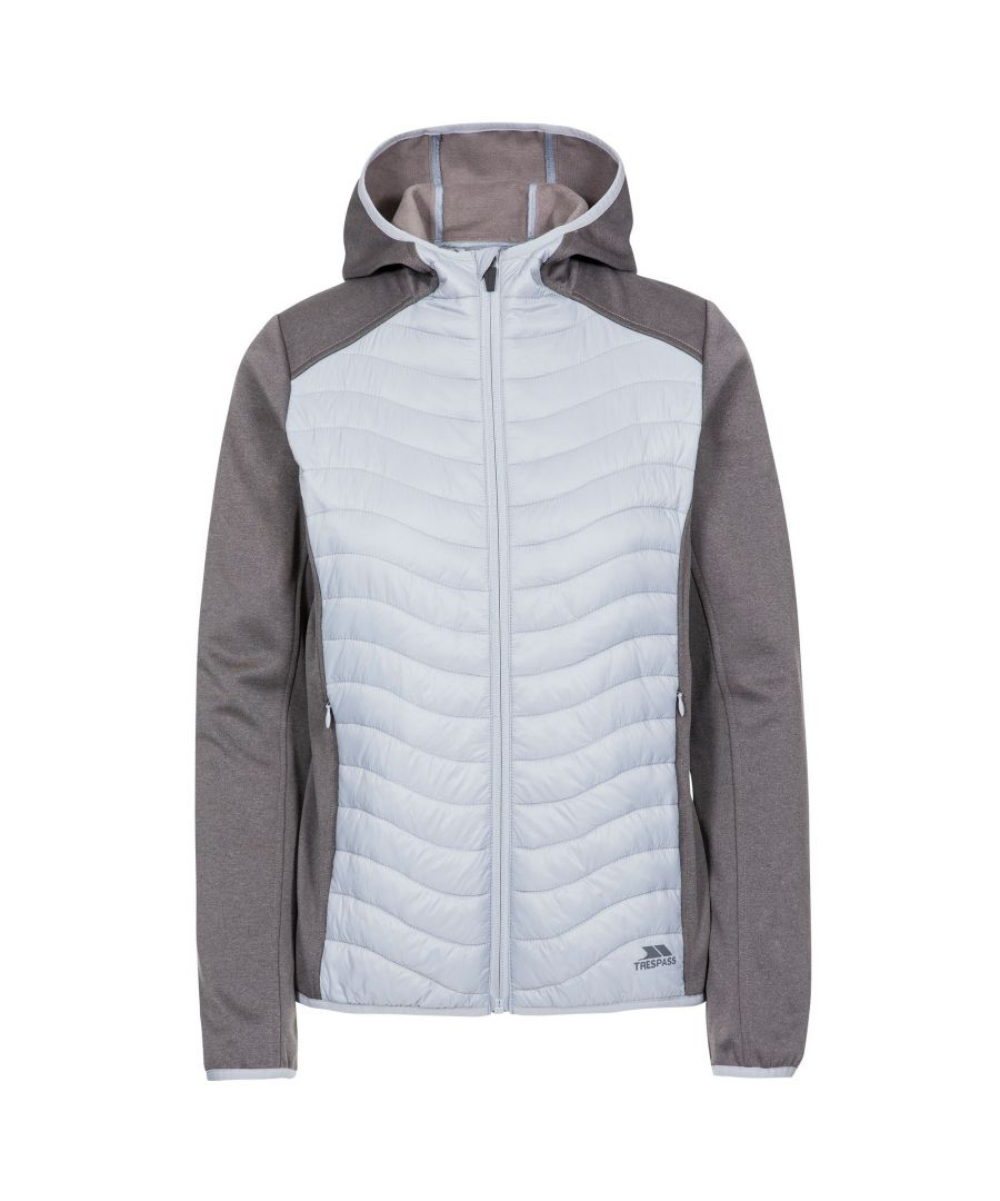 Image for Trespass Womens/Ladies Cecilia Padded Hoodie