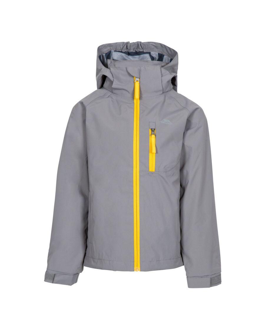 Image for Trespass Childrens Boys Overwhelm Rain Jacket