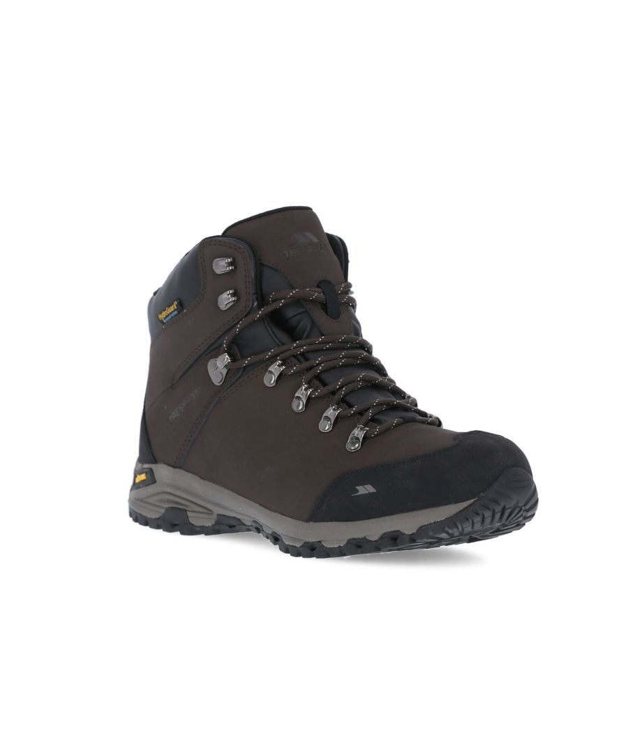Image for Trespass Mens Gerrard Mid Cut Hiking Boots