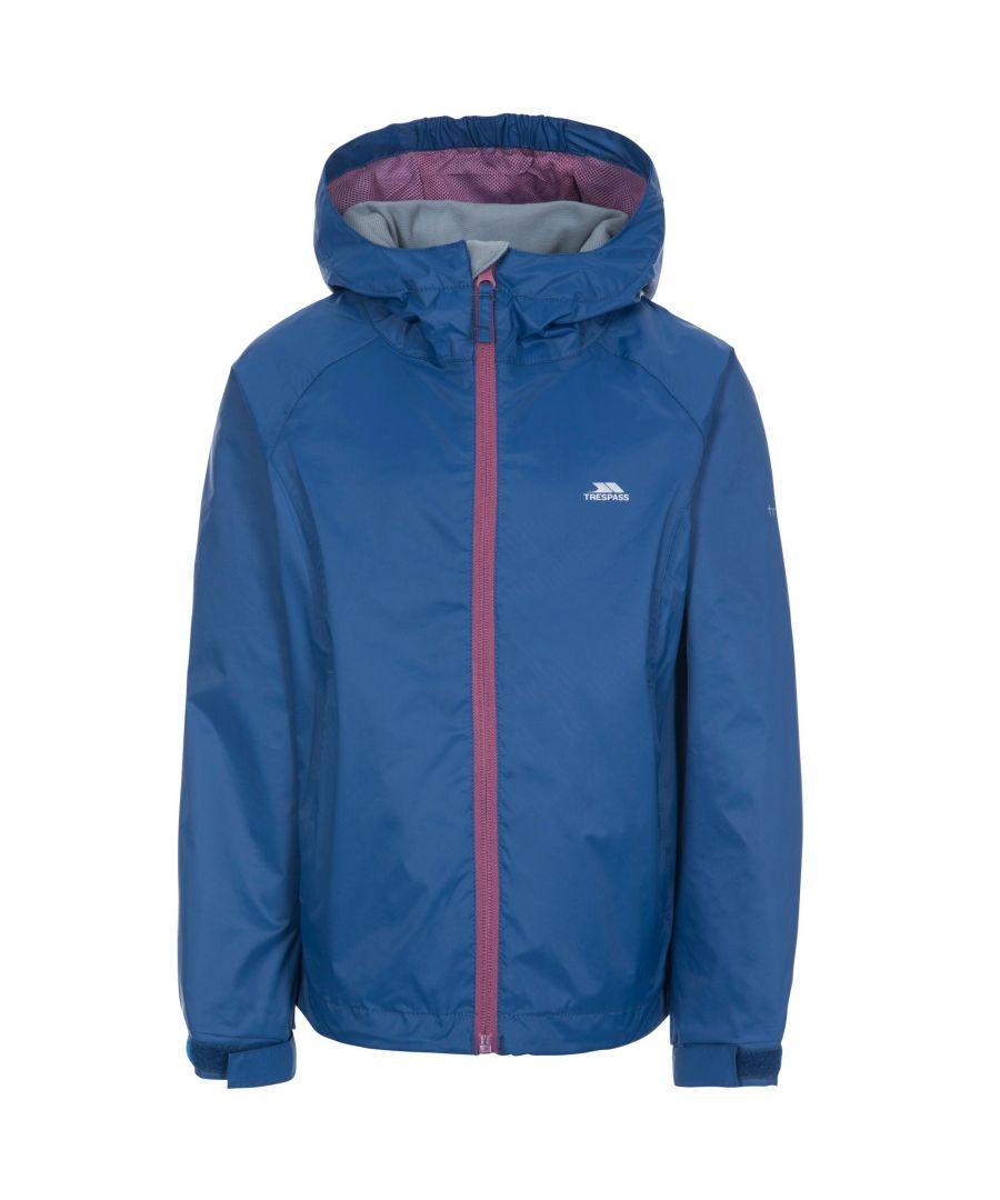 Image for Trespass Childrens Girls Impressed Waterproof Jacket