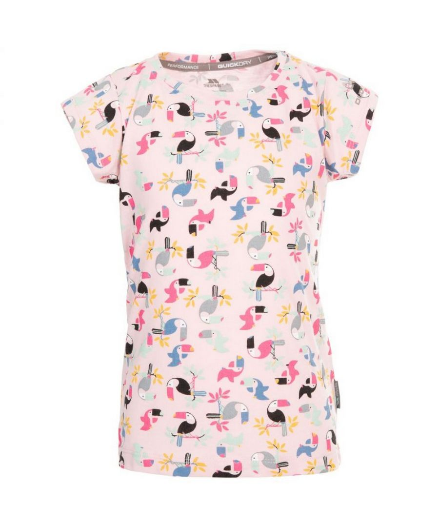 Image for Trespass Girls Vivid T-Shirt (Candyfloss Pink)