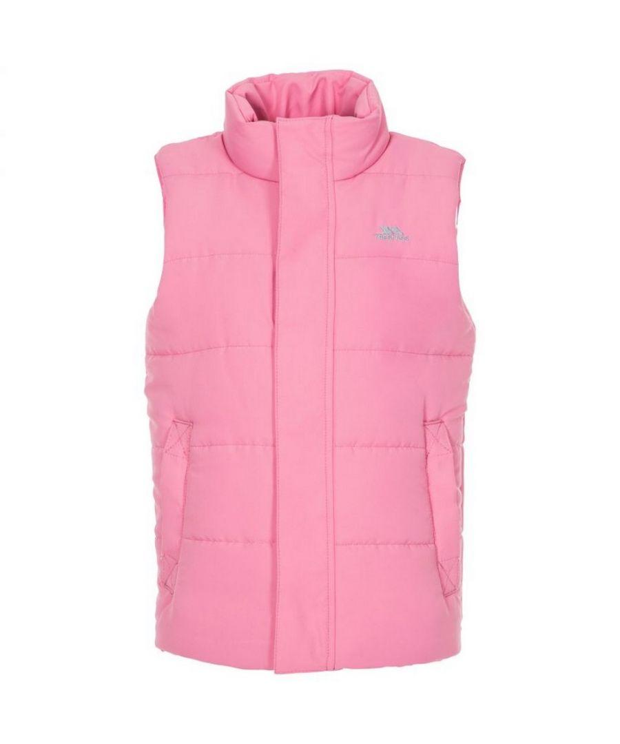 Image for Trespass Childrens/Kids Startling Sleeveless Gilet (Flamingo Pink)
