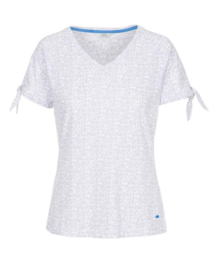 Image for Trespass Womens/Ladies Fernie T-Shirt (Platinum)