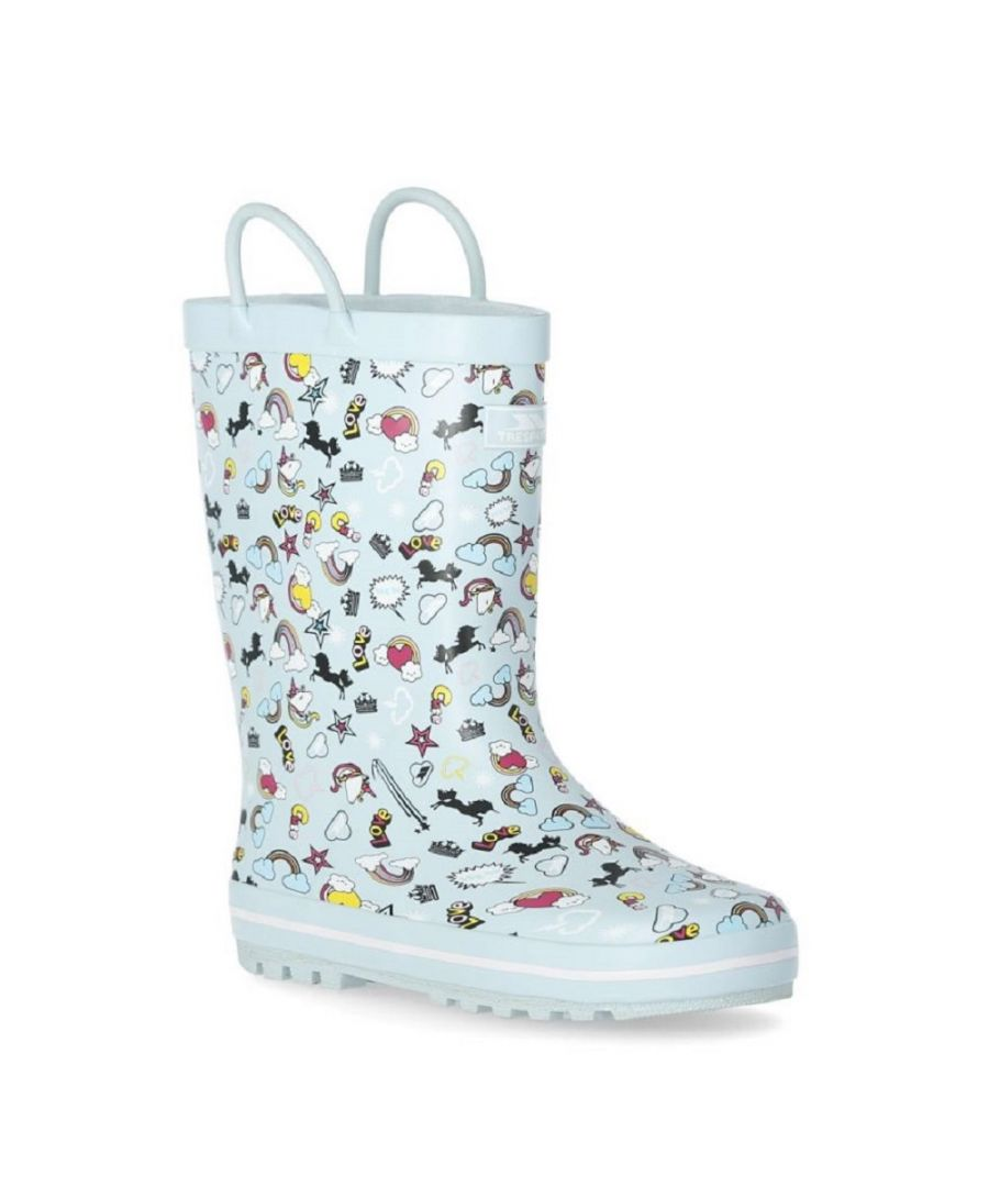Image for Trespass Childrens/Kids Starryton Wellington Boots (Mint)