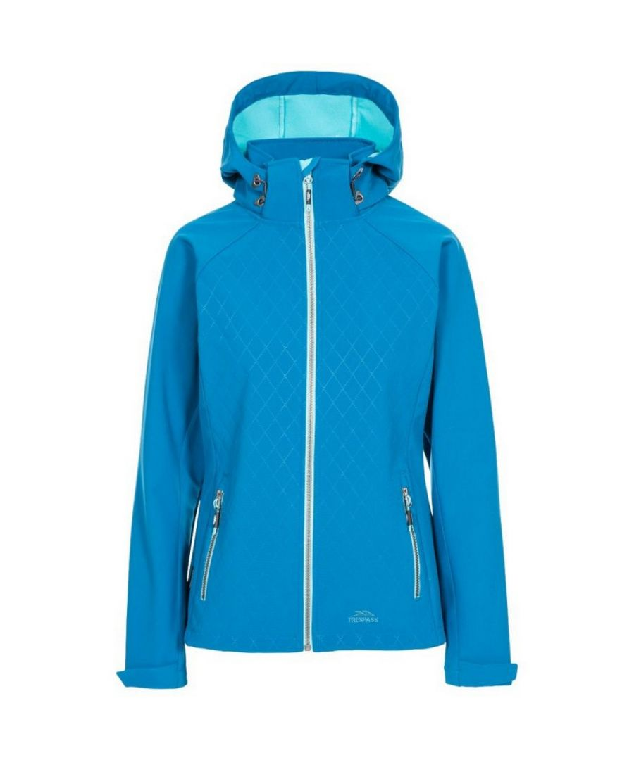 Image for Trespass Womens/Ladies Nelly Soft Shell Jacket (Cosmic Blue)