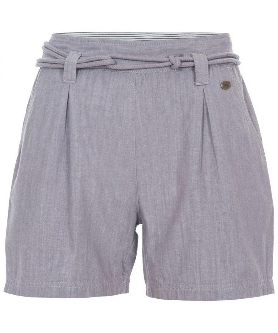 Image for Trespass Womens/Ladies Lynn Shorts (Storm Grey)