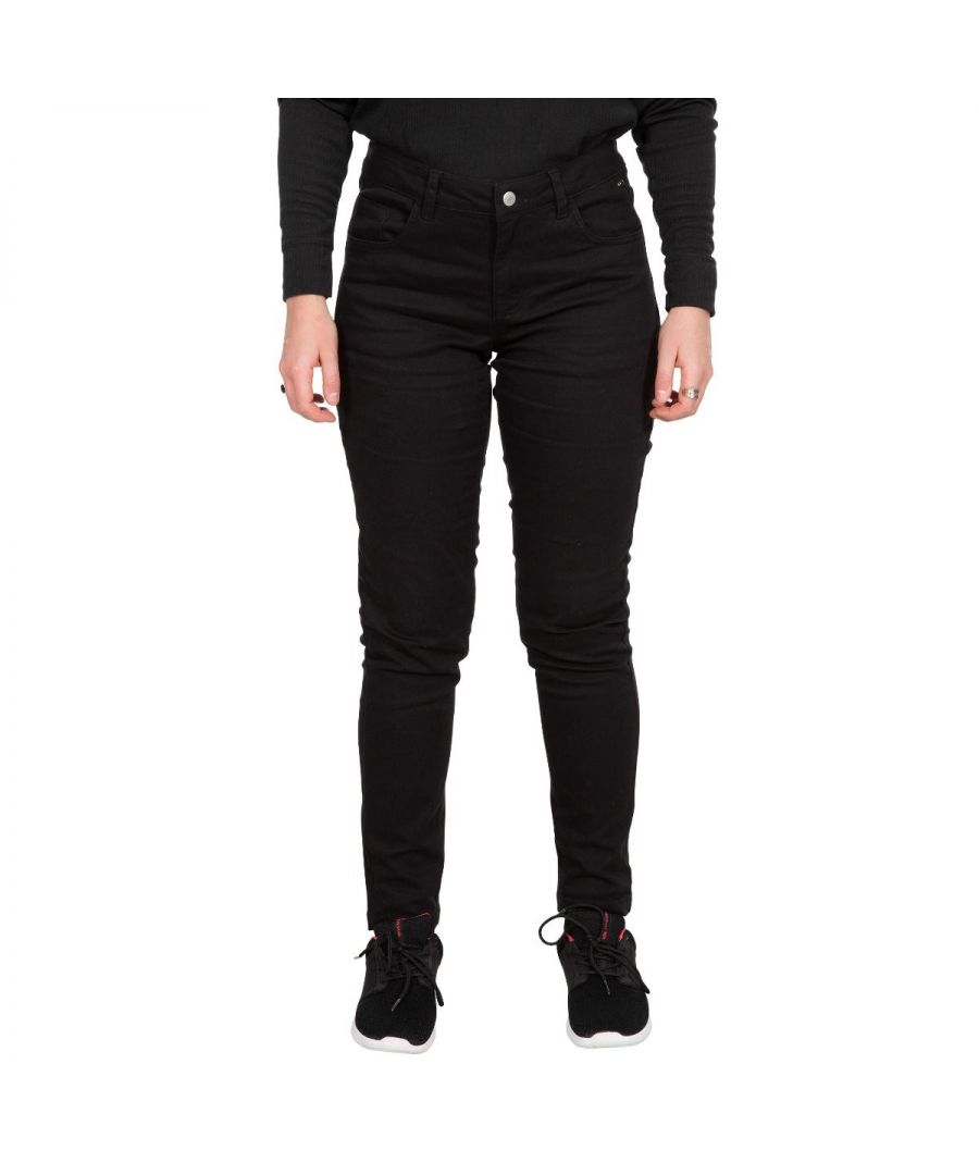 Image for Trespass Womens/Ladies Aneta Trousers (Black)