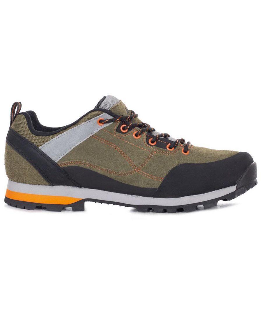 Image for Trespass Mens Vorce Walking Shoes (Olive/Orange)