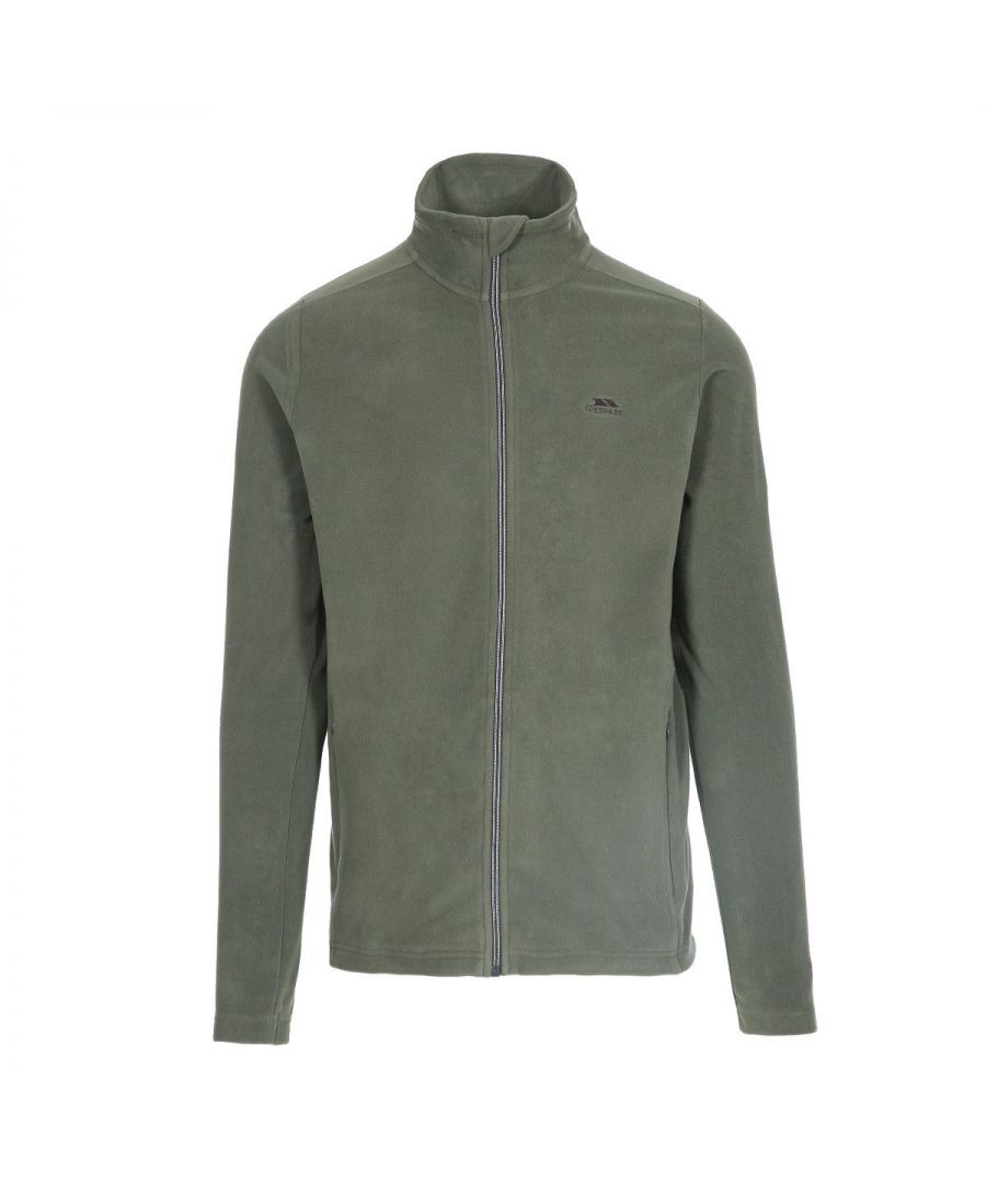 Image for Trespass Mens Tadwick Fleece Jacket (Basil Green)