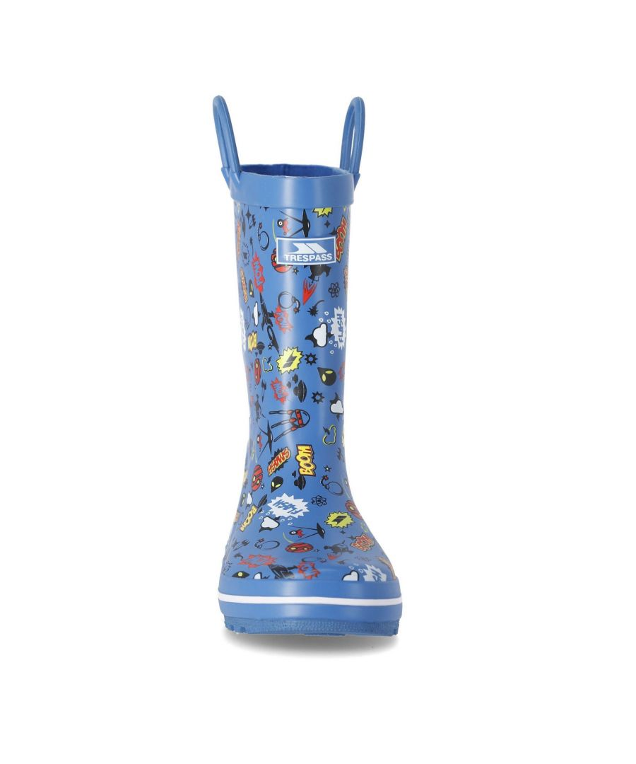 Image for Trespass Childrens/Kids Apolloton Wellington Boots (Cosmic Blue)