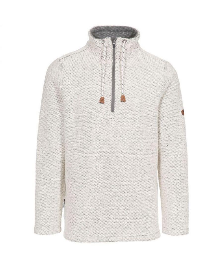 Image for Trespass Mens Falmouthfloss Sweatshirt (Off White)