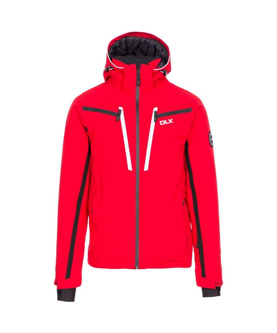 Image for Trespass Mens Jared DLX Ski Jacket (Red)
