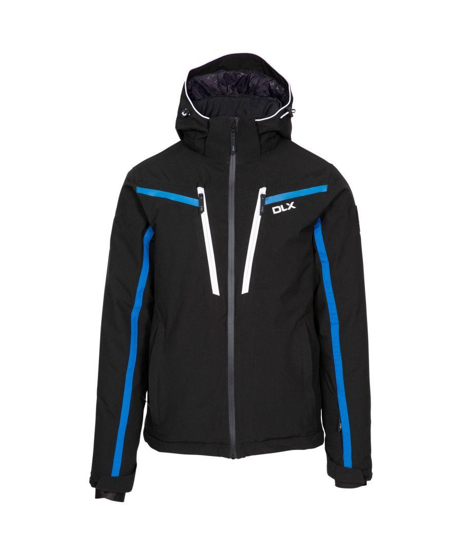 Image for Trespass Mens Jared DLX Ski Jacket (Black)