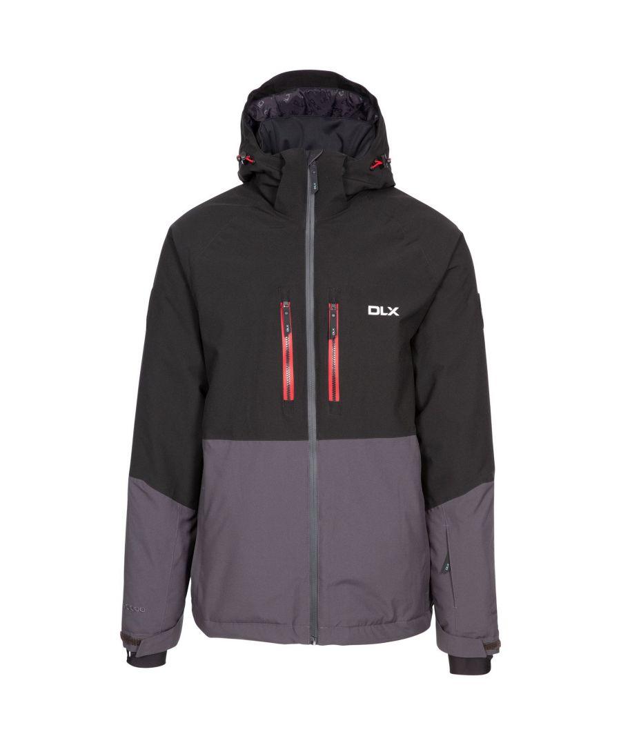 Image for Trespass Mens Nelson DLX Ski Jacket (Dark Grey)