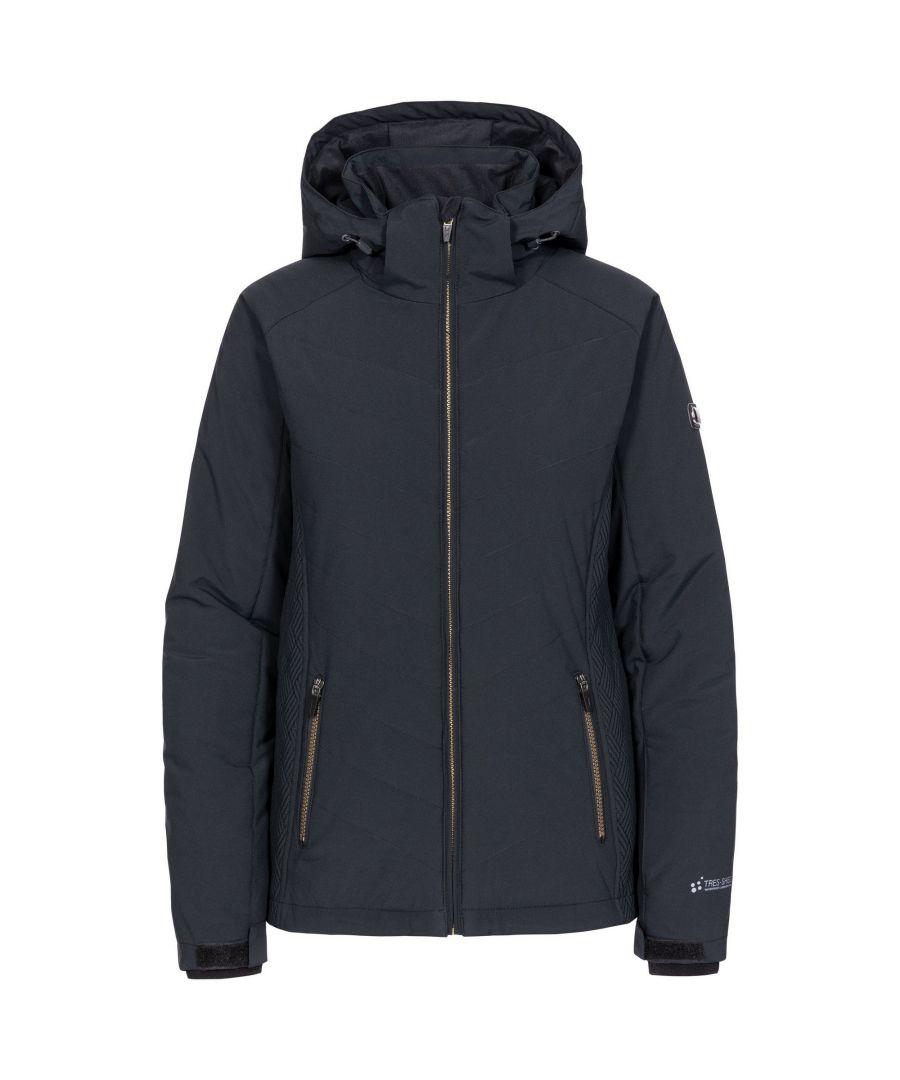 Image for Trespass Womens/Ladies Eva Ski Jacket (Black)
