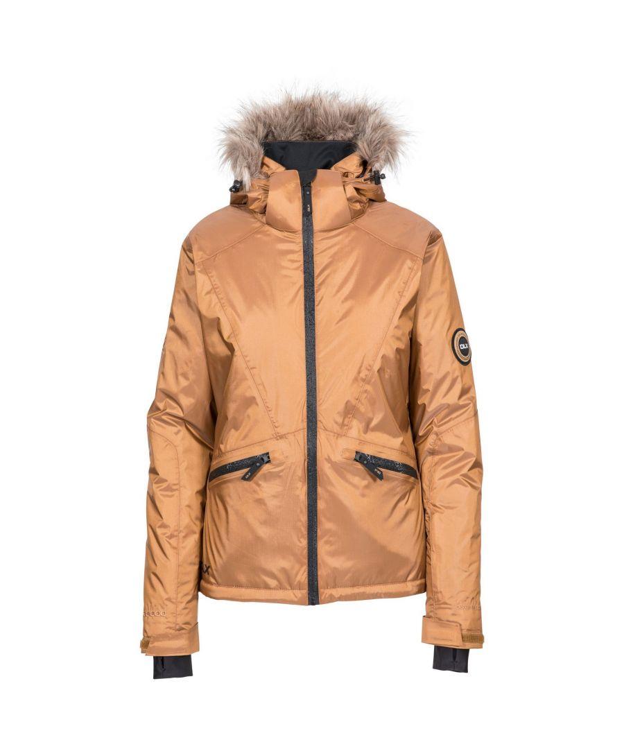 Image for Trespass Womens/Ladies Meredith DLX Ski Jacket (Bronze)