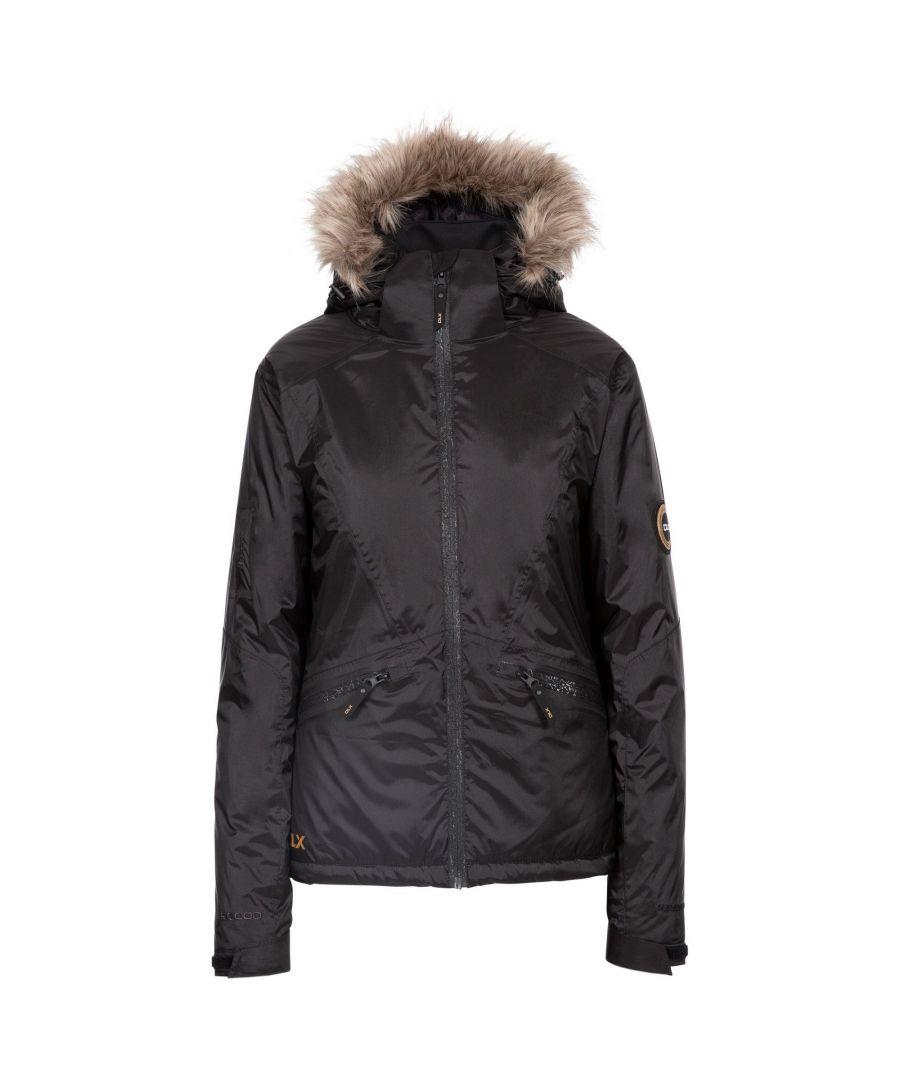 Image for Trespass Womens/Ladies Meredith DLX Ski Jacket (Black)