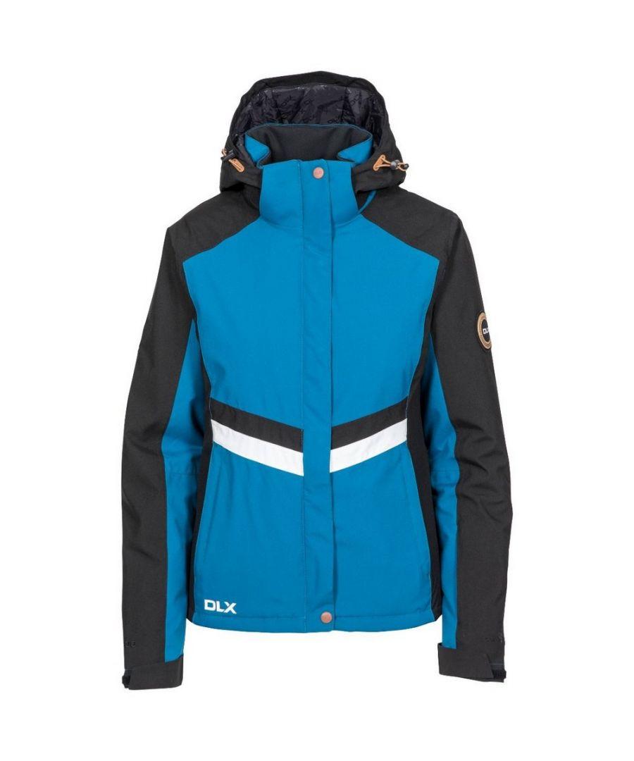 Image for Trespass Womens/Ladies Gwen DLX Ski Jacket (Cosmic Blue)