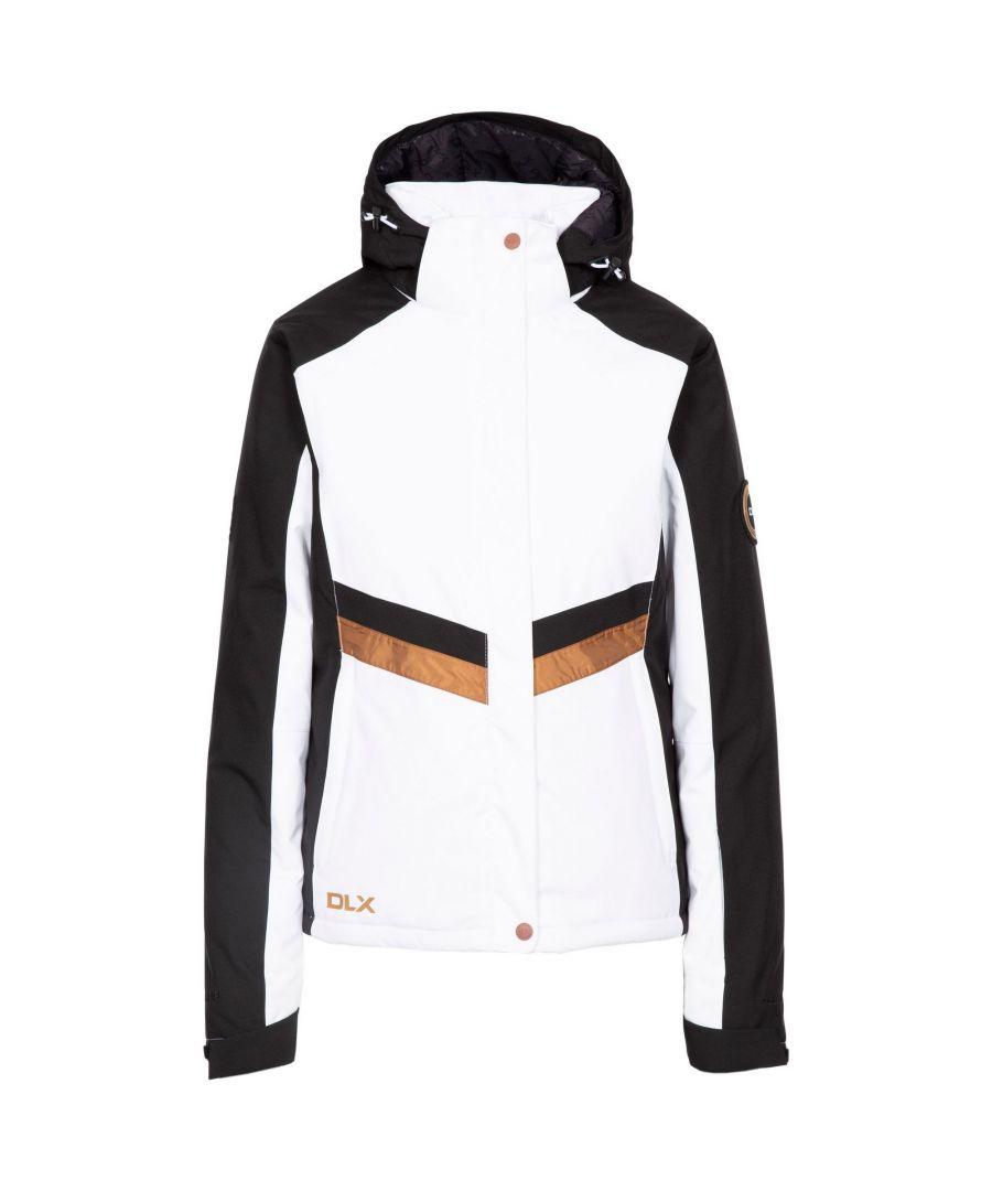 Image for Trespass Womens/Ladies Gwen DLX Ski Jacket (White)