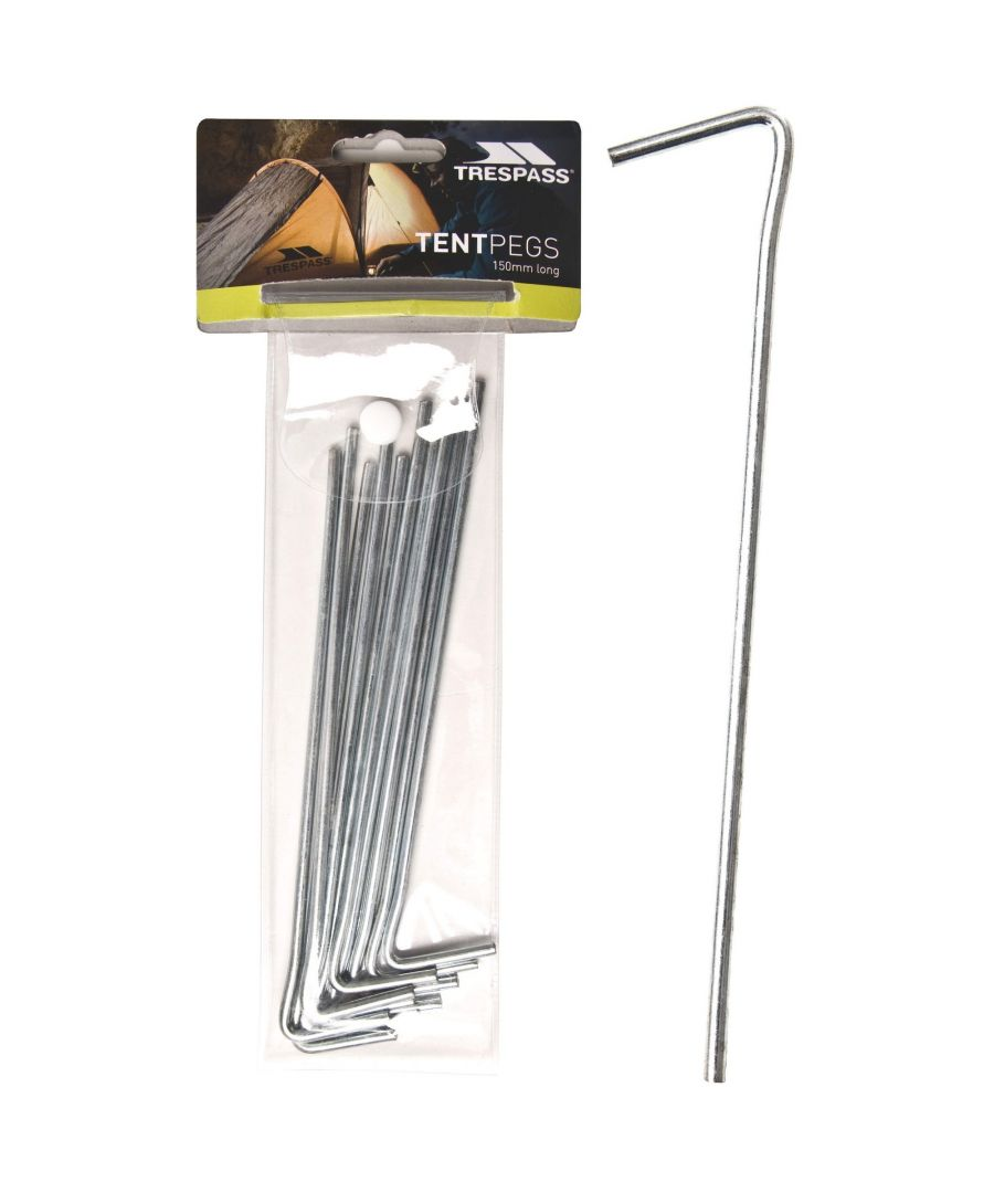 Image for Trespass Axion Steel Tent Peg (Pack Of 10)