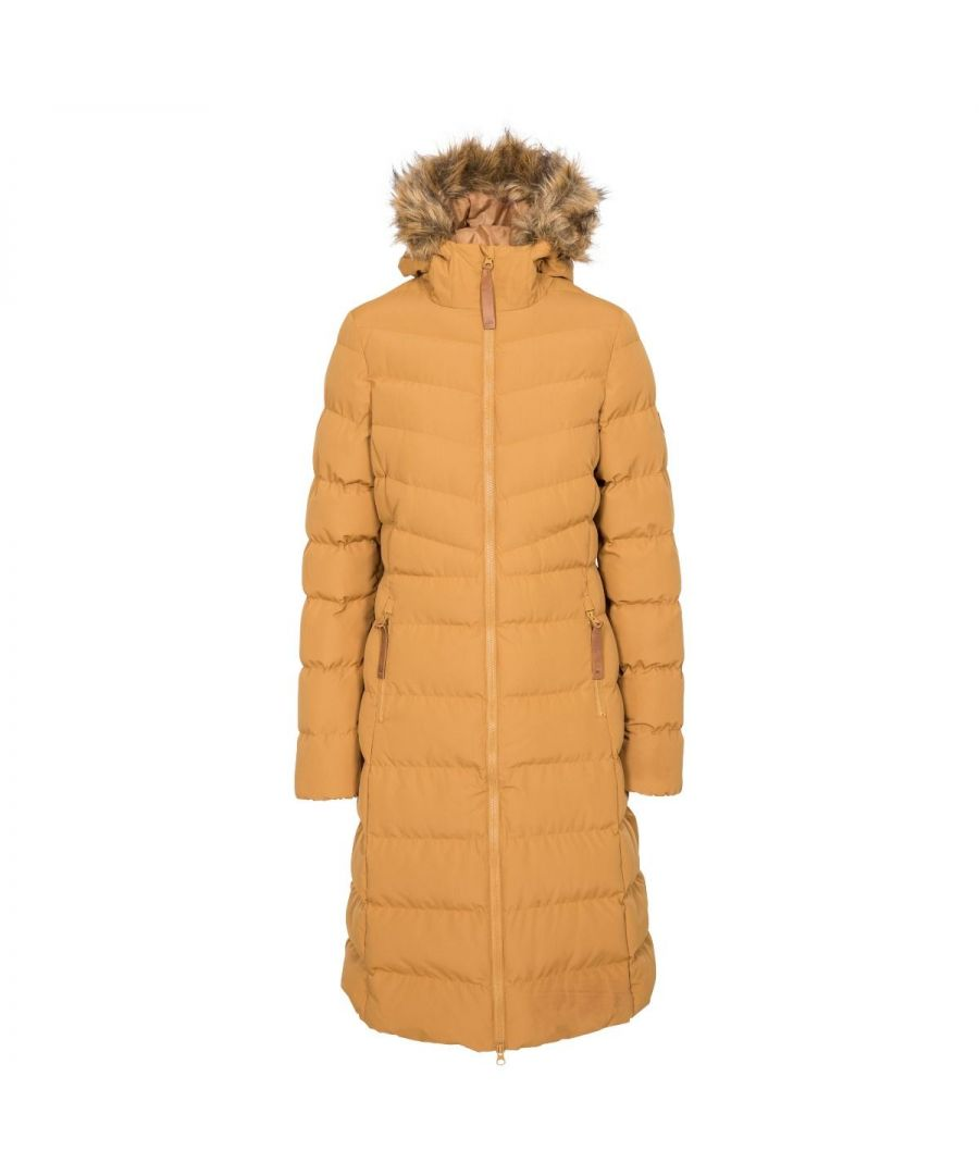Image for Trespass Womens/Ladies Audrey Padded Jacket (Sandstone)