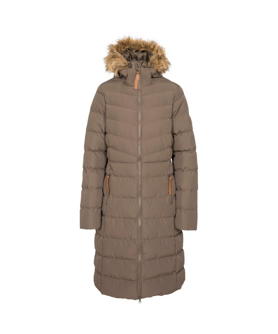Image for Trespass Womens/Ladies Audrey Padded Jacket (Khaki Brown)