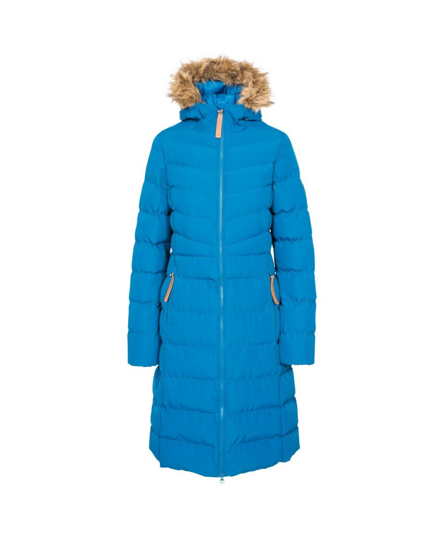 Image for Trespass Womens/Ladies Audrey Padded Jacket (Cosmic Blue)