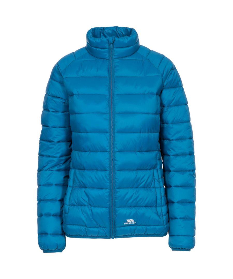 Image for Trespass Womens/Ladies Marlene Padded Jacket (Cosmic Blue)