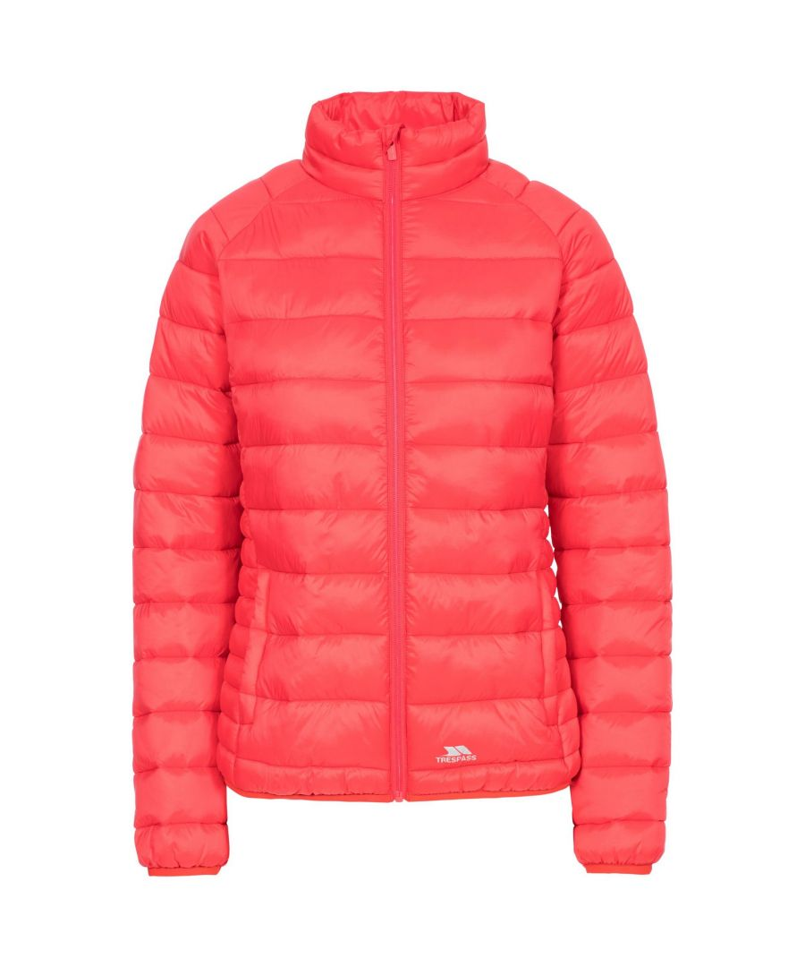 Image for Trespass Womens/Ladies Marlene Padded Jacket (Hibiscus Red)