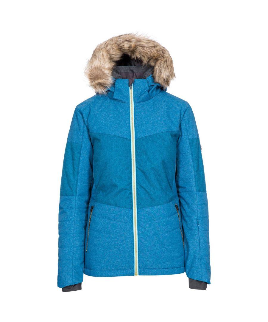 Image for Trespass Womens/Ladies Tiffany Ski Jacket (Cosmic Blue)